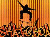 Skataboarding Background