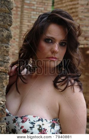 Plump young lady