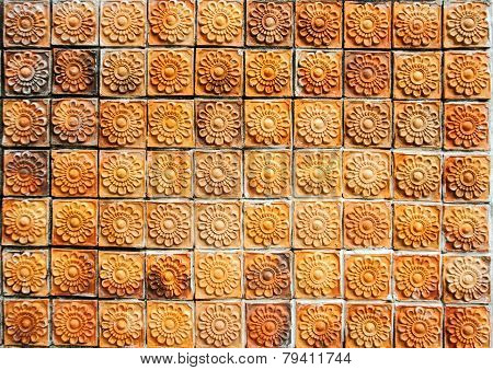 Thai Cray Pattern Wall