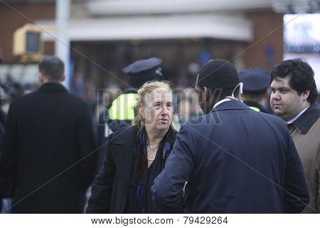 Manhattan Borough President Gail Brewer