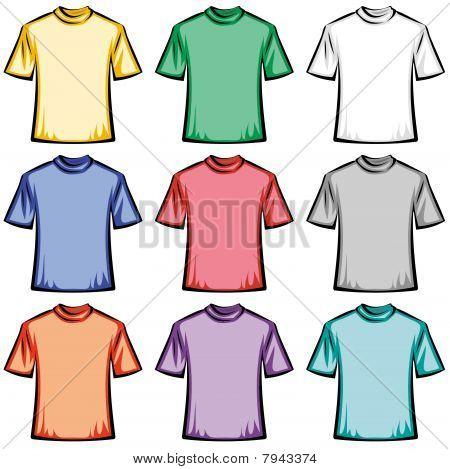 Blank T-shirts illustration