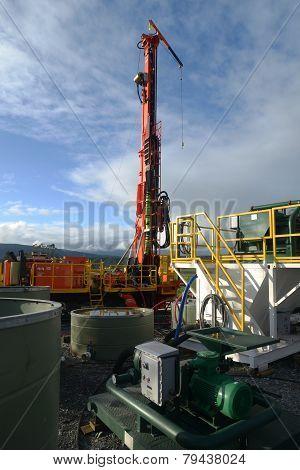 Drilling Rig Set Up