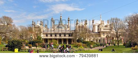 England - Brighton Pavilion Panorama