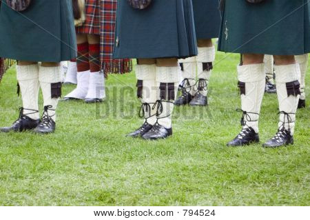 well-dressed Scotsmen