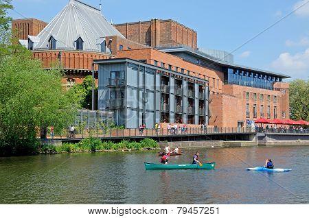 Royal Shakespeare Theatre, Stratford-Upon-Avon.