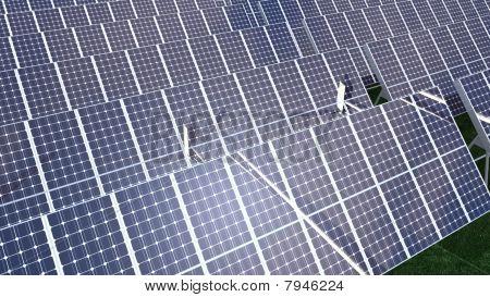 Animation Presenting Various Solar Panel