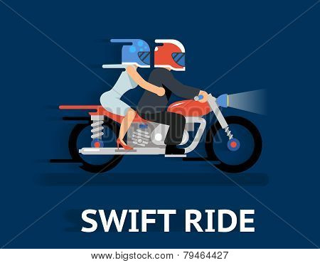 Cartooned Swift Ride Concept Design