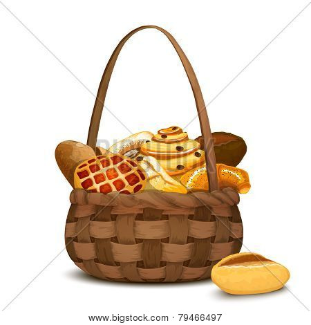 Bakery In Basket