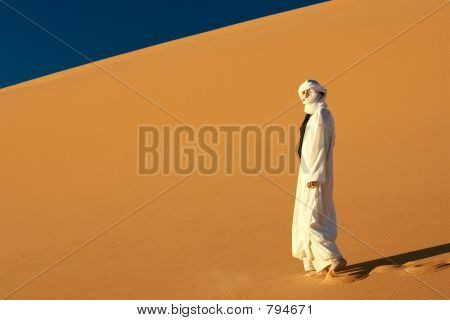 girl in Sahara