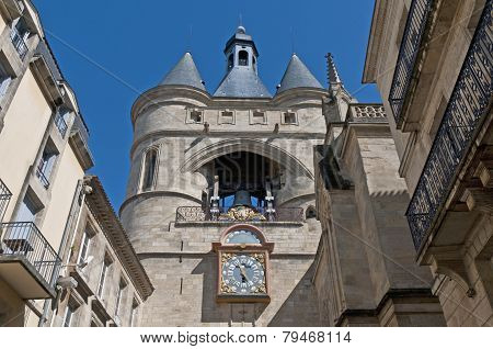Grosse Cloche Door At Bordeaux, France