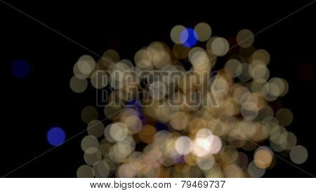 Photo Of Bokeh Lights On Black Background