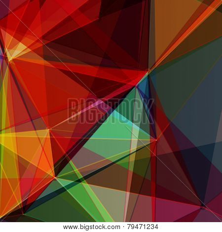 Abstract Colorful Mosaic Design | EPS10 Vector Illustration