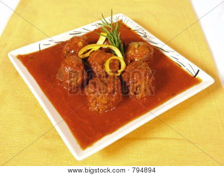 Chicken And Beef Meatballs