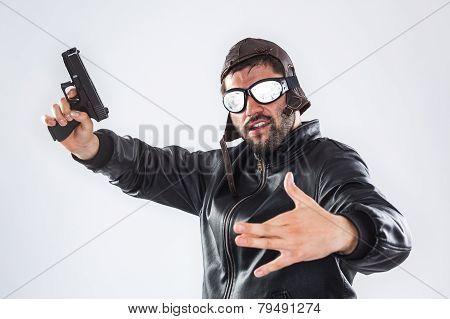 Rapper With Gun