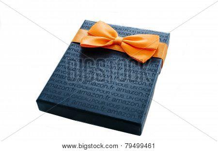Amazon Gift Card Box Isolated