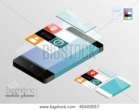 Isometric mobile phones