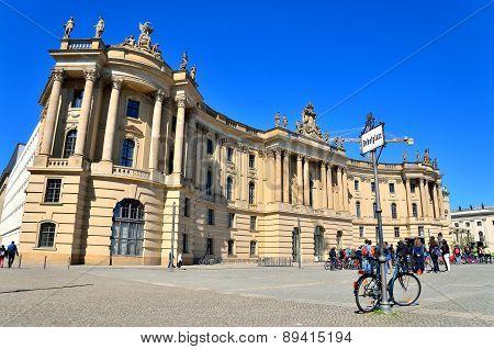 Humboldt University in Berlin, Germany.