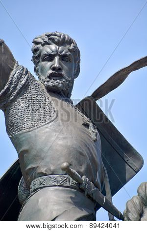 statue of Rodrigo Diaz de Vivar (El Cid)