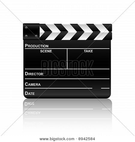 Film Slate With Reflection