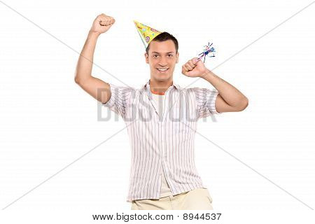 Party Person Celebrating