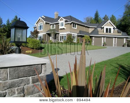 Upscale Luxury Mansion