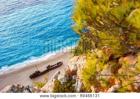 Landscape Of Shipwreck Beach
