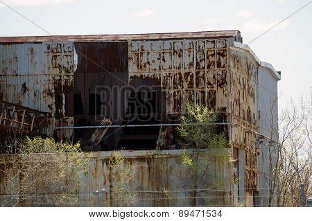 Ruins of Joliet Steelworks