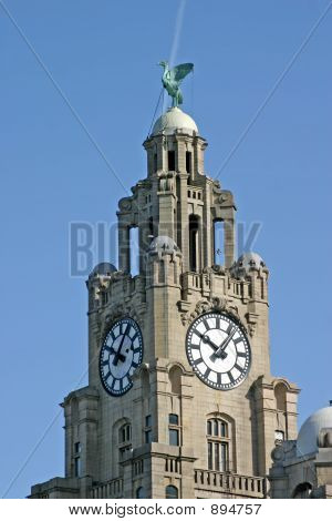 Liver Building In Liverpool