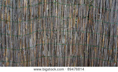 Bamboo Wall Fence Horizontal