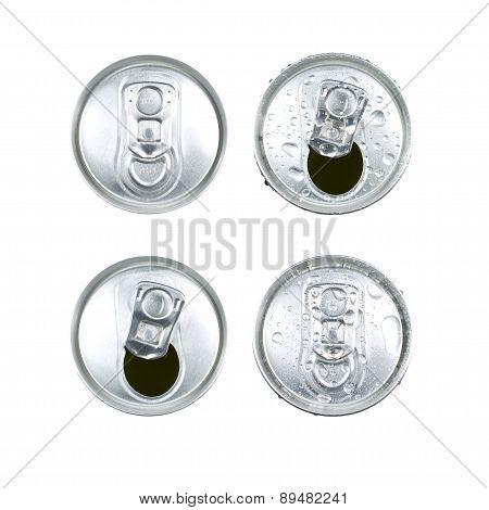 Metal Jar Drink