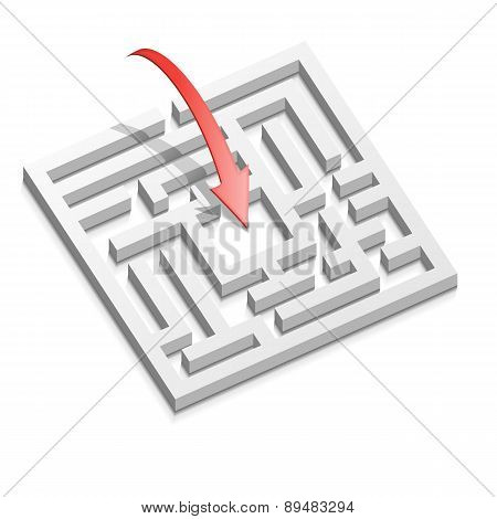Prompt decision for labyrinth
