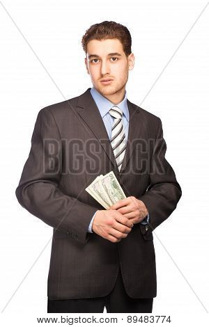 Doubting Man With Money