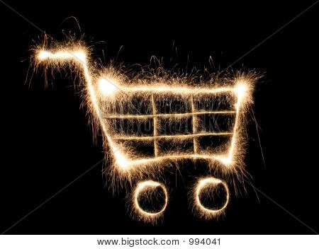 Shopping Cart Sparkler