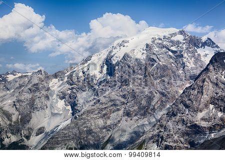 Alpine Mountaintop By Summer