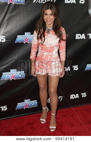 LOS ANGELES - AUG 19:  Paula Abdul at the 2015 Industry Dance Awards and Cancer Benefit Show at the Avalon on August 19, 2015 in Los Angeles, CA