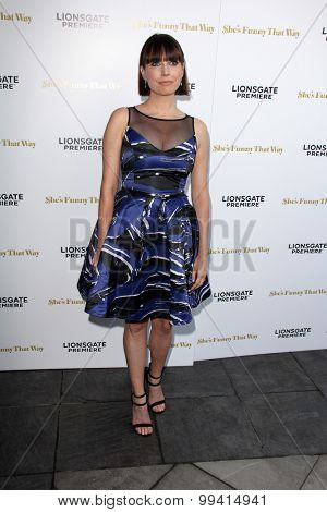 LOS ANGELES - AUG 19:  Julie Ann Emery at the