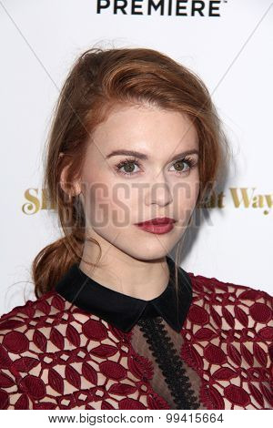 LOS ANGELES - AUG 19:  Holland Roden at the