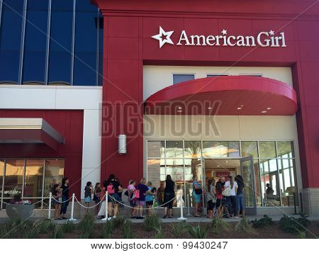 American Girl, Scottsdale Quarter. Scottsdale,AZ,Aug 22nd. American Girl unveils its new 12,000-square foot retail experience at Scottsdale Quarter.