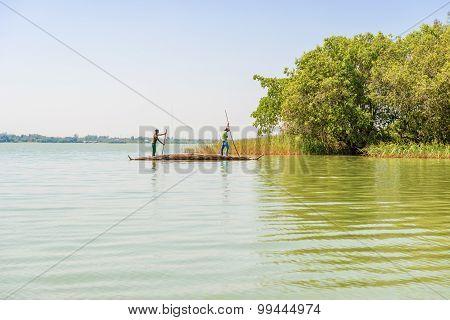 Lake Tana In Ethiopia.