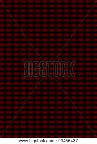 Background Of Red And Black Rectangles