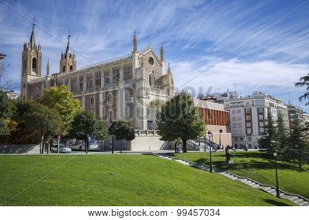 St Geromimo the Royal church, Madrid, Spain