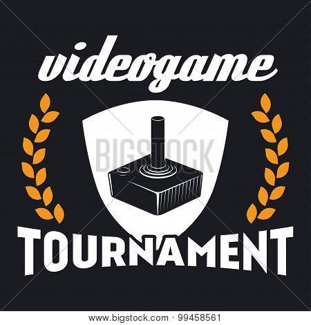 computer game tournament label