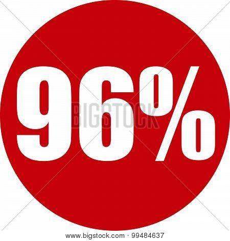 96 Percent Icon
