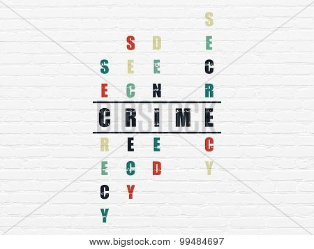 Safety concept: word Crime in solving Crossword Puzzle