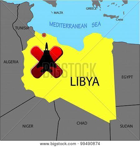 Prohibition Of Flights Over Libya