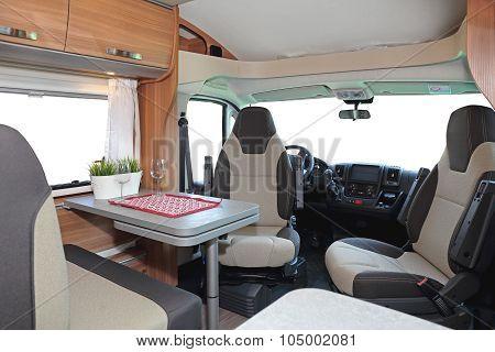 Camper Dining Room