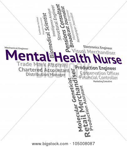Mental Health Nurse Means Personality Disorder And Carer