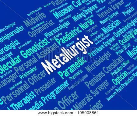 Metallurgist Job Means Expert Words And Researching