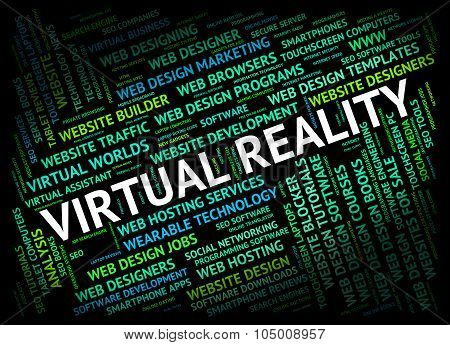Virtual Reality Shows Out Sourcing And Contract