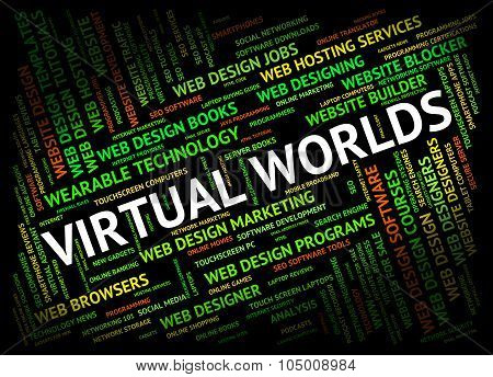 Virtual Worlds Indicates Independent Contractor And Freelance